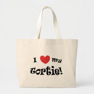 Mim coração meu bolsa do jumbo de Tortie
