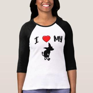 Mim coração meu chiwawa tshirts