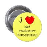 Mim coração meu namorada feminista! pins