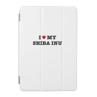 Mim coração minha capa de ipad de Shiba Inu