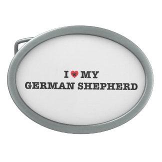 Mim coração minha fivela de cinto do german