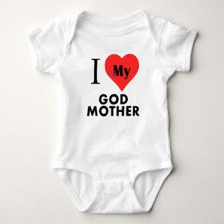 Mim coração minha mãe do deus tshirts