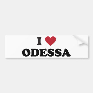 Mim coração Odessa Ucrânia Adesivo Para Carro
