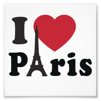 Mim coração Paris Artes De Fotos