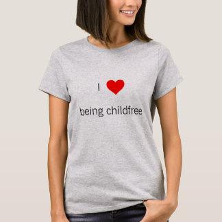 Mim coração que é camisa do childfree