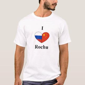 Mim coração Rochu! Camiseta