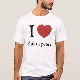 Mim coração Shakespeare Camiseta