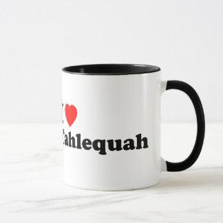 Mim coração Tahlequah - caneca de dois tons