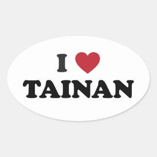Mim coração Tainan Formosa Adesivo Oval
