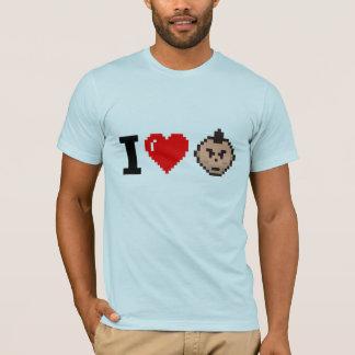 Mim coração Tim Camiseta