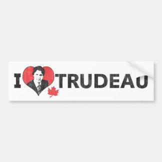 Mim coração Trudeau Adesivo Para Carro