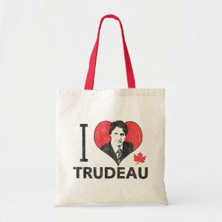 Mim coração Trudeau Sacola Tote Budget