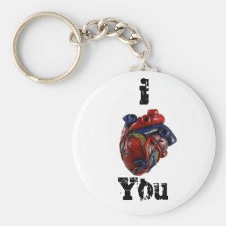 Mim coração você! chaveiro