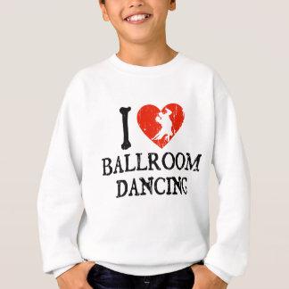 Mim dança de salão de baile do coração agasalho