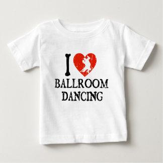 Mim dança de salão de baile do coração tshirt