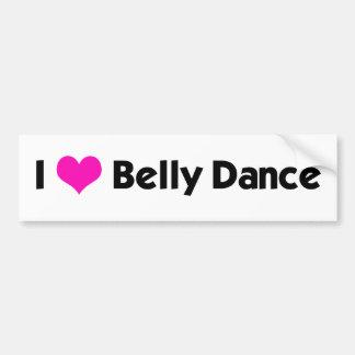 Mim dança do ventre do *heart* - cor feita sob enc adesivo para carro