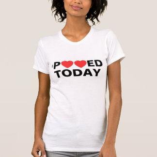 Mim de Pooped t-shirt & camisas hoje
