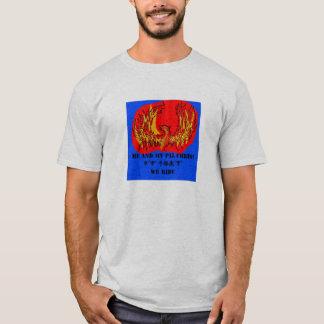 mim e minha camiseta de chris do amigo