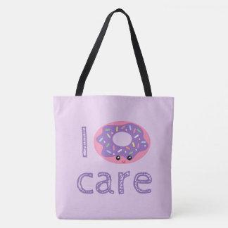 Mim emoji bonito do humor da chalaça da filhós do bolsa tote