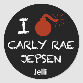 Mim etiqueta de Carly Rae Jepsen do Bomb Adesivos