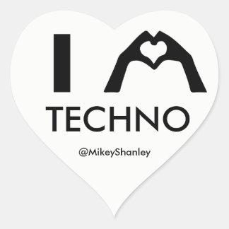 MIM etiqueta de Techno do CORAÇÃO