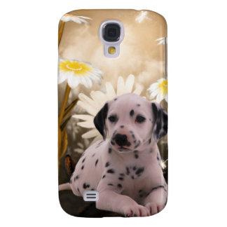 mim flores do cão dos animais capa samsung galaxy s4
