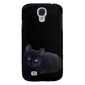 mim gato preto dos animais galaxy s4 covers