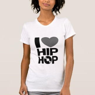 Mim hip-hop do coração t-shirts