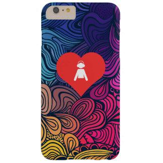 Mim ícone dos meninos do coração capa barely there para iPhone 6 plus