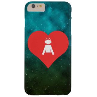 Mim ícone dos meninos do coração capas iPhone 6 plus barely there