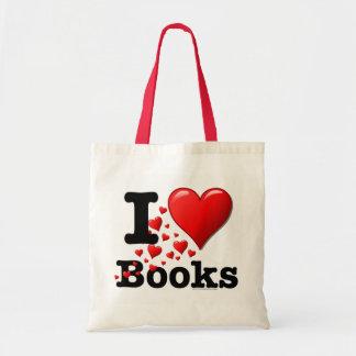 Mim livros do coração! Eu amo livros! (Fuga dos co Bolsa