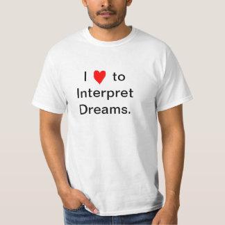 Mim Luv para interpretar sonhos Camisetas