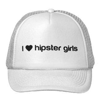Mim meninas do hipster (do coração) boné