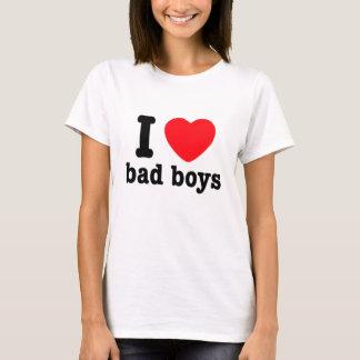 Mim meninos do mau do coração! t-shirts