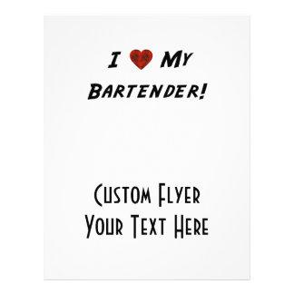 Mim ♥ meu barman! flyer 21.59 x 27.94cm
