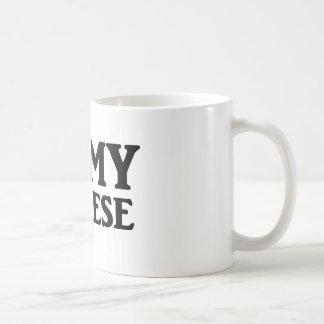 Mim ♥ meu maltês caneca de café