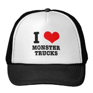 MIM monster truck do CORAÇÃO (AMOR) Boné