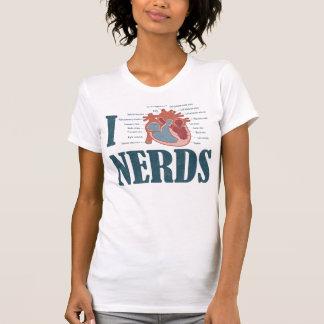 Mim NERD do coração Camisetas