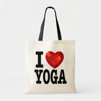 Mim o bolsa da ioga do coração