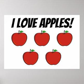 Mim poster das maçãs de amor (maçã 5)