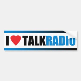 Mim programa de rádio do coração adesivo para carro