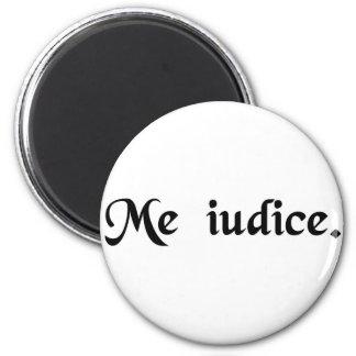 Mim que sou juiz imas de geladeira