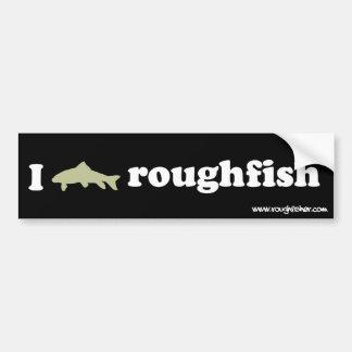 mim roughfish do logotipo adesivo