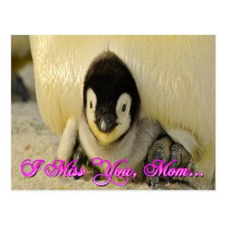Mim senhorita Você Mamã Cartão Cartoes Postais