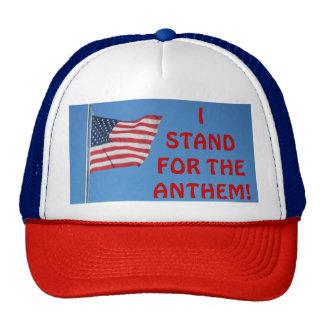 Mim Shand para o hino! Bandeira dos EUA Boné