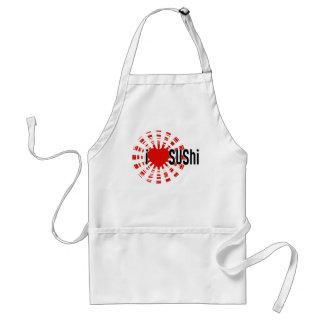 Mim sushi do coração! avental