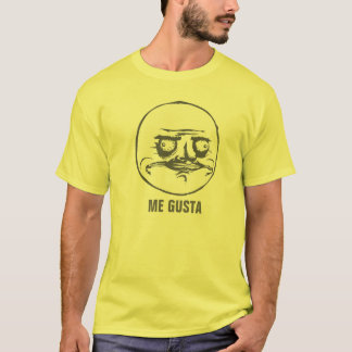 Mim t-shirt do costume de Gusta Camiseta
