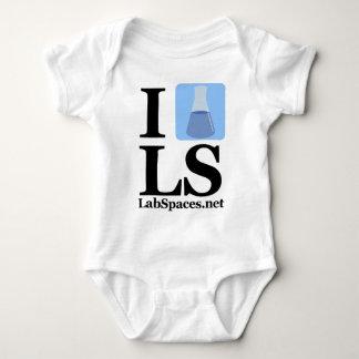 Mim taça LS com domínio T-shirt