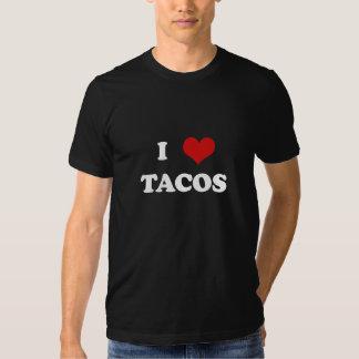 Mim Tacos do coração (para camisas escuras) Camiseta