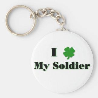 Mim (trevo) meu chaveiro do soldado
